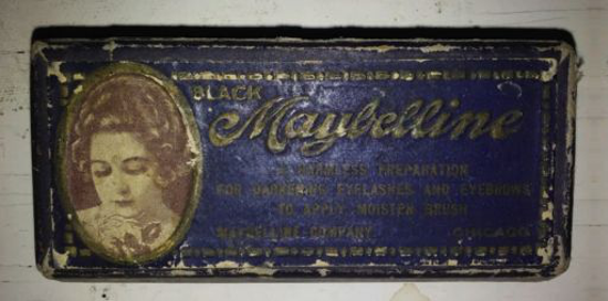 Maybelline cake mascara 1917 - top