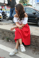 Shriya Saran looks super cute in off shoulder top and Red Skirt ~  Exclusive Celebrities Galleries 049.JPG