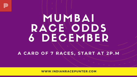 Mumbai Race Odds 6 December