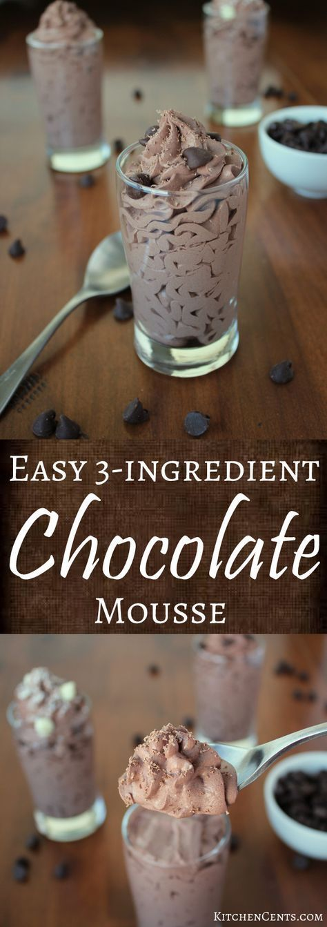 EASY CHOCOLATE MOUSSE #recipes #dessertrecipes #easyrecipes #easydessertrecipes #food #foodporn #healthy #yummy #instafood #foodie #delicious #dinner #breakfast #dessert #lunch #vegan #cake #eatclean #homemade #diet #healthyfood #cleaneating #foodstagram