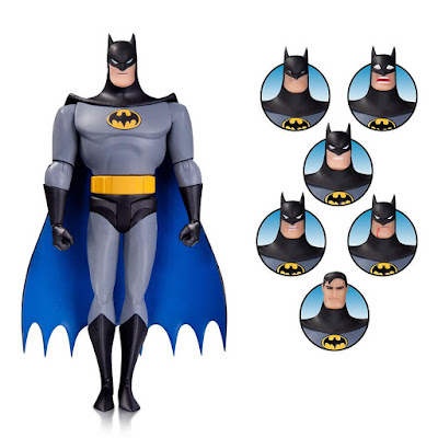 "Batman: The Animated Series Wave 6 6"" Action Figures – Expressions Pack Batman"