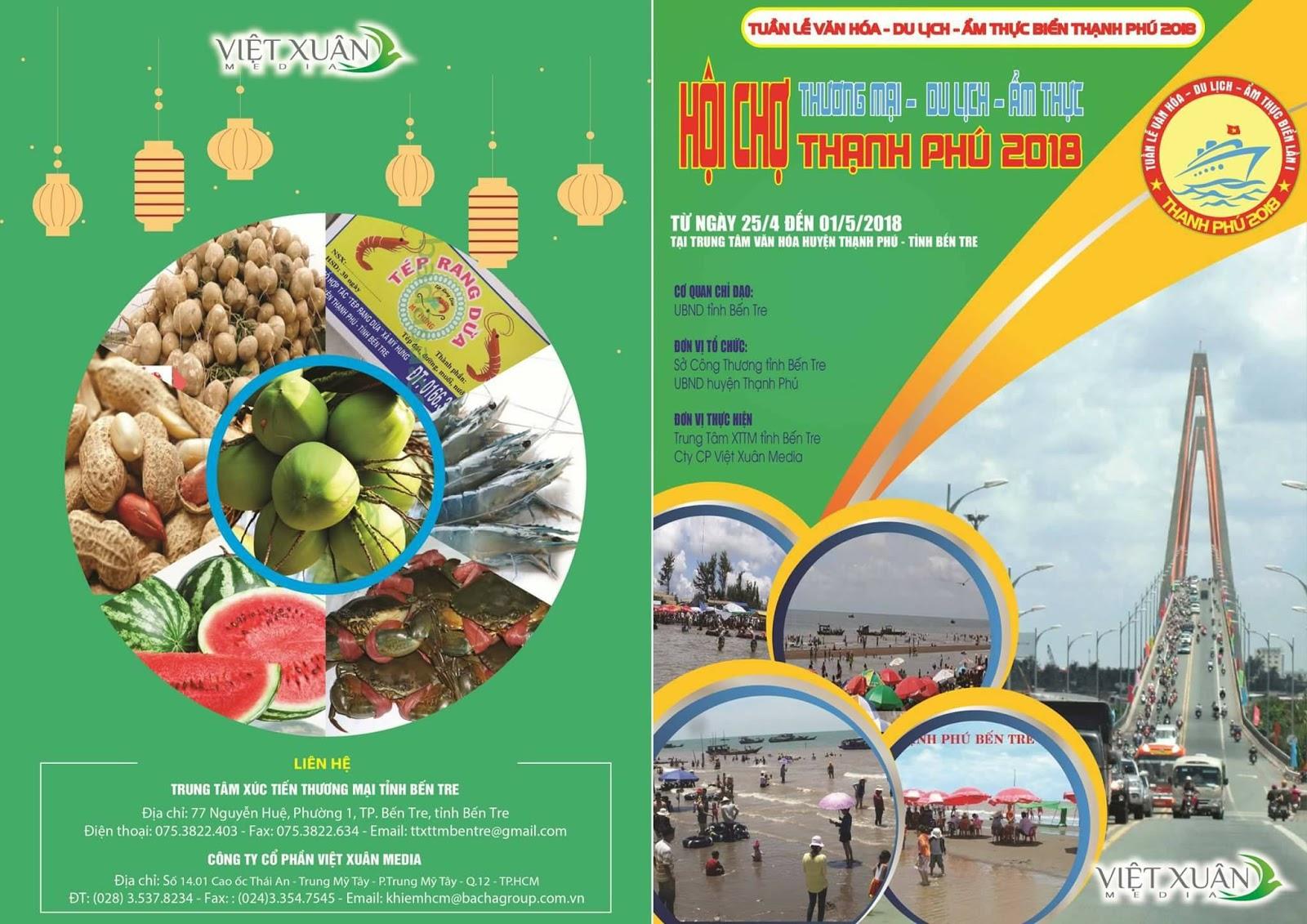 Hội chợ Thạnh Phú 2018
