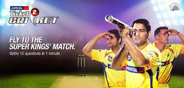 Win Ticket for all CSK matches This Champions League Twenty20