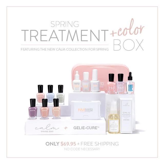 Zoya Spring Treatment and Color Box 2019