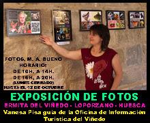 EXPOSICIÓN FOTOGRAFICA M. A. BUENO - ERMITA DEL VIÑEDO - LOPORZANO - HUESCA - OFICINA DE TURISMO
