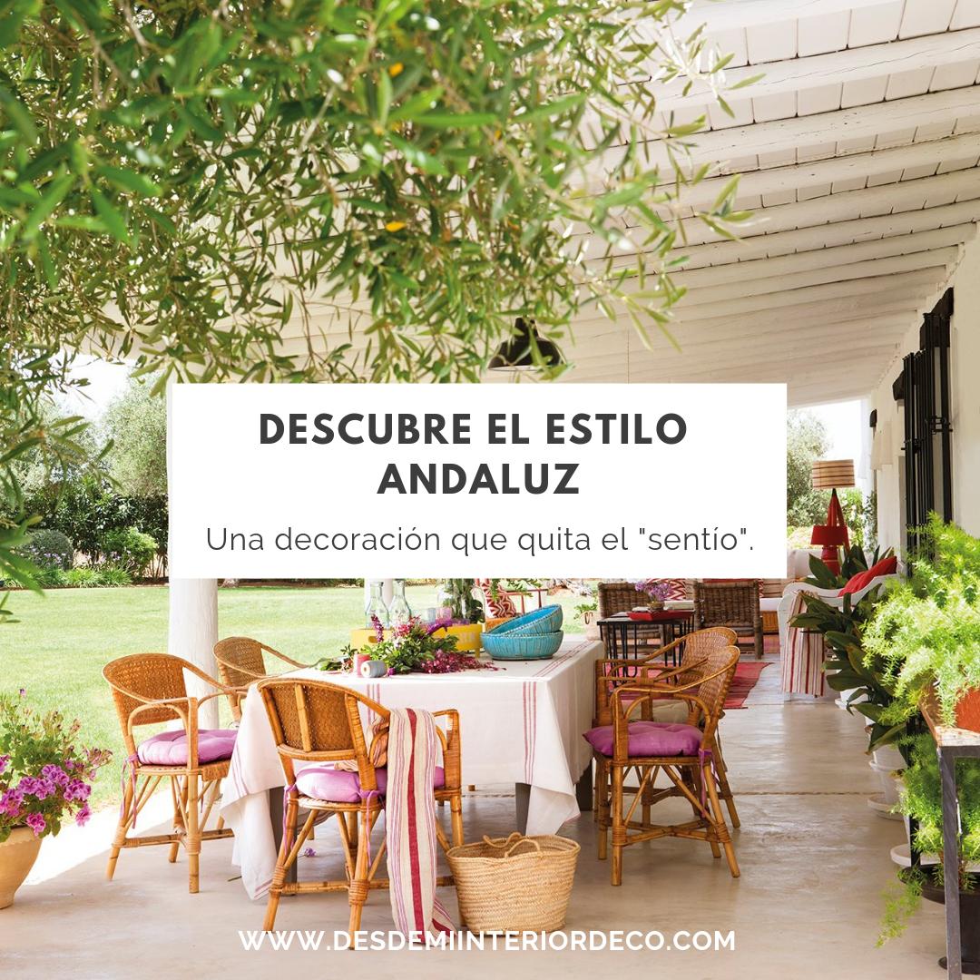cómo decorar al estilo andaluz casa con patio y macetas