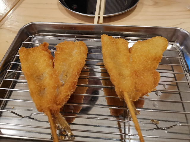 キス 串カツ田中浜町店の串カツはうまい!