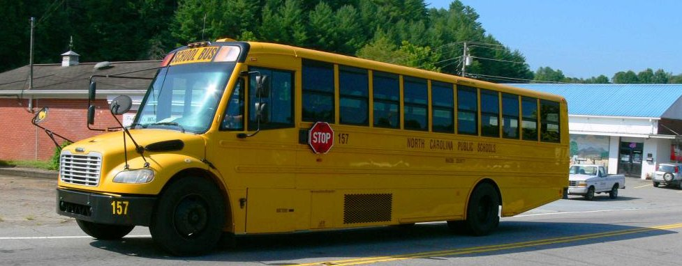 Macon county School Bus