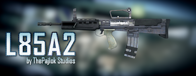 Pack de Armas do Battlefield 3 para GTA San Andreas