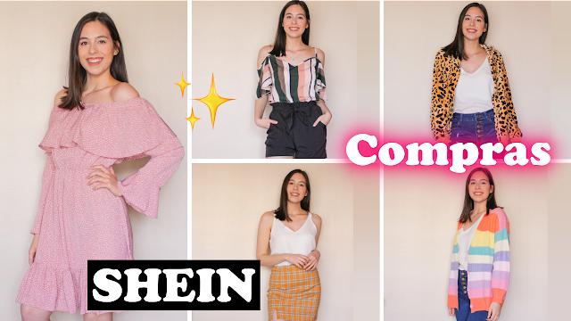 Recebidos Shein- comprinhas de roupas estilosas e baratas!