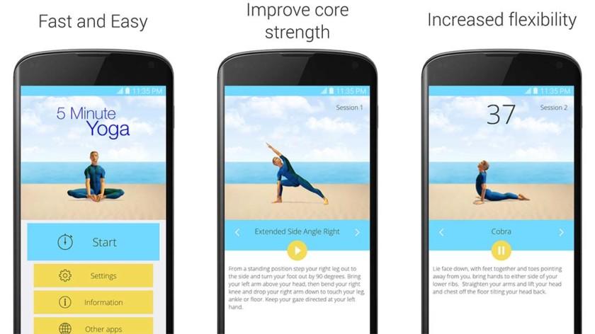 أفضل 5 تطبيقات اليوغا للأندرويد اليوغا لنظام Android!