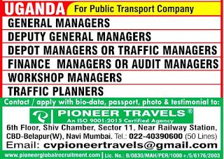 Public Transport Company in Uganda