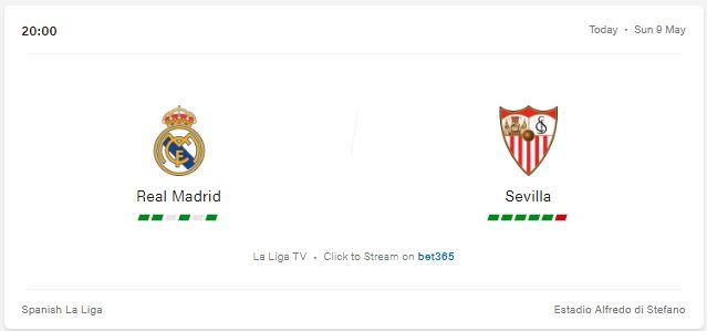 Real Madrid vs Sevilla Preview and Prediction 2021