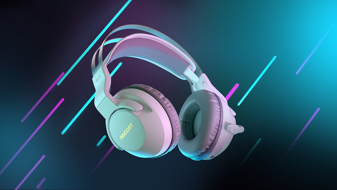 ROCCAT LAUNCHES NEW WHITE COLORWAY FOR THE POPULAR ELO 7.1 AIR WIRELESS PC GAMING HEADSET