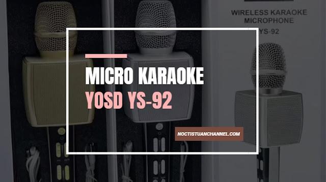 Micro kết nối với điện thoại SU YOSD YS-92 âm thanh cực vang