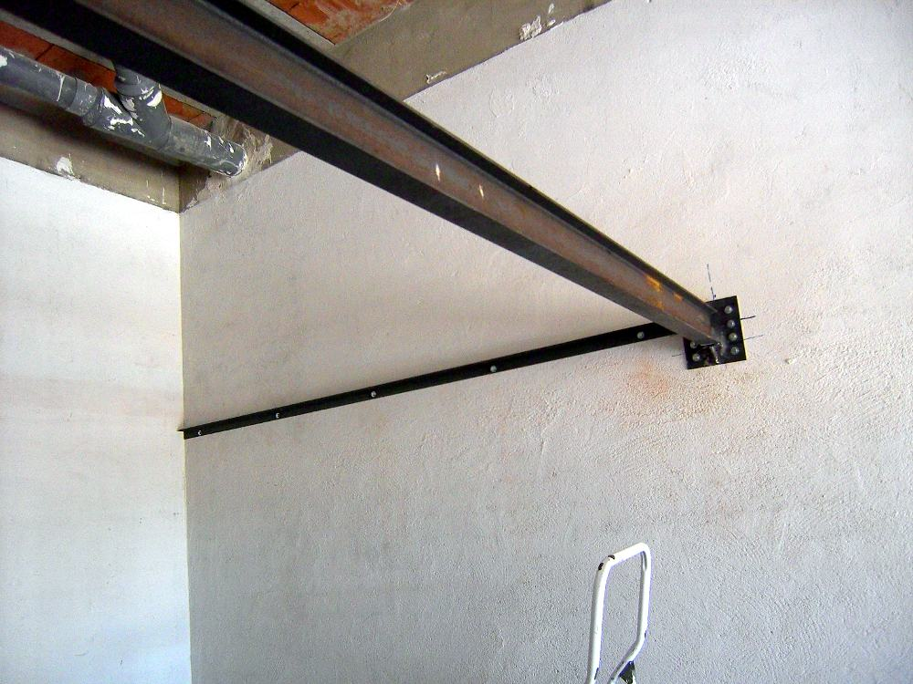 Supermanitas altillo para garaje con escalera abatible y - Trasteros de madera para jardin ...
