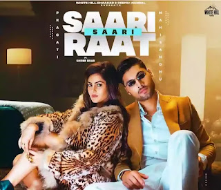 Saari Saari Raat Lyrics - Pragati x Shree Brar