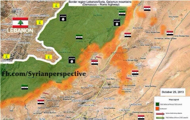 Syrian Arab Army Offensive in the Qalamoon Mountains 1