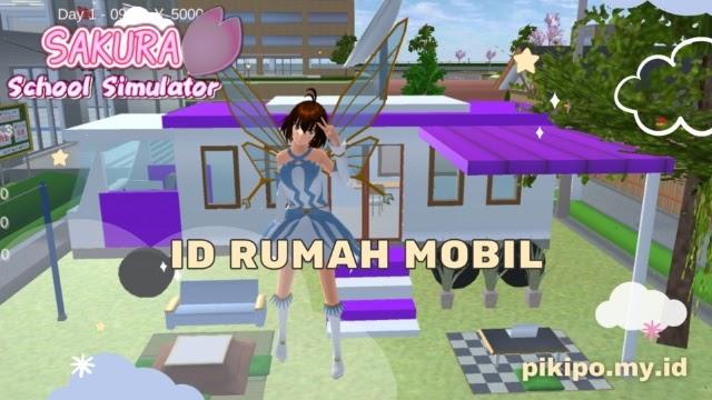 ID Rumah Mobil Di Sakura School Simulator