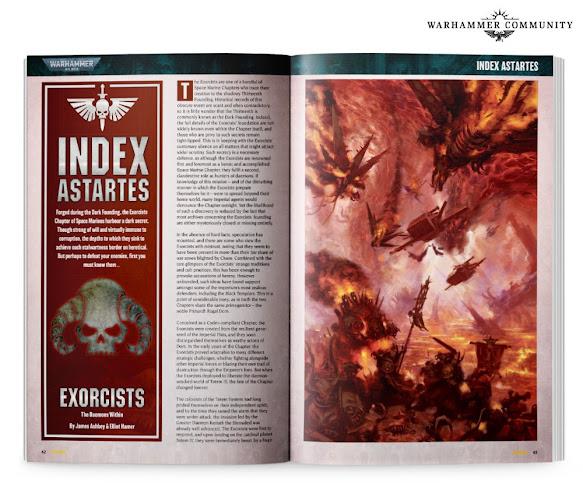Index Astartes Exorcistas