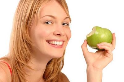 Manzana saludable