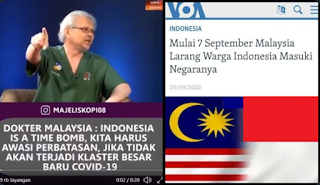 Malaysia Larang WNI Masuki Negaranya, Ternyata Sudah Lama Diprediksi Dokter Malaysia