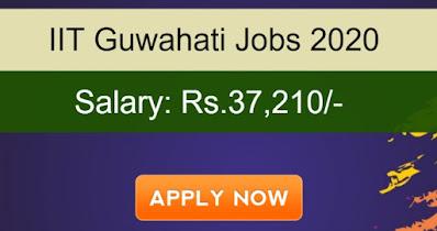 IIT Guwahati Recruitment for Junior Research Fellow - 37,210 Salary - Apply Now | Sarkari Jobs Adda