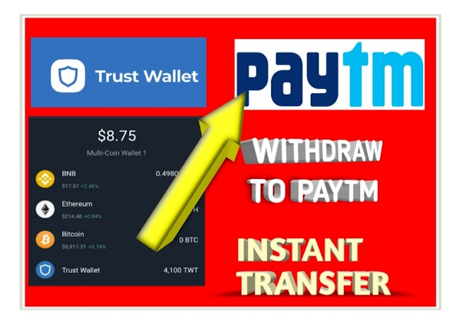 (PROOF ADDED) How To Transfer Trust Wallet to Paytm