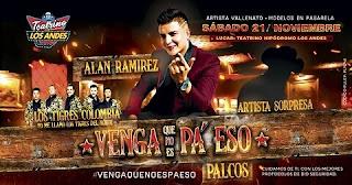 Concierto de Alan Ramirez en vivo