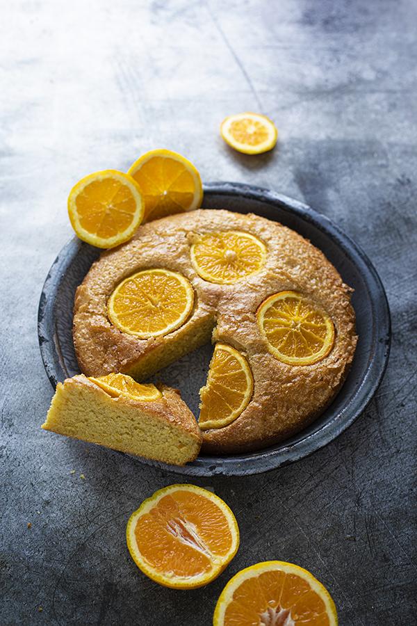 Gâteau à l'orange vegan