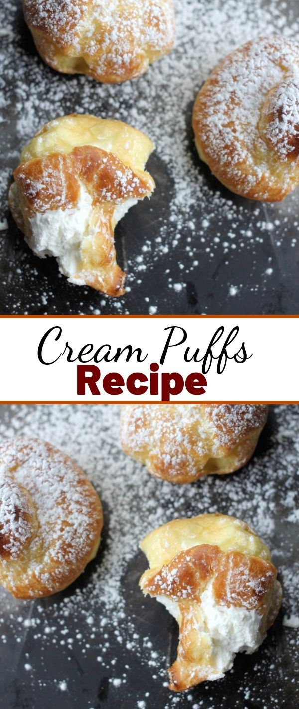 Cream Puffs Recipe #Cream #Puffs #Recipe Cake Recipes From Scratch, Cake Recipes Easy, Cake Recipes Pound, Cake Recipes Funfetti,