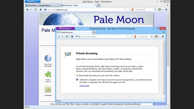 Pale Moon Browser Download Free for Windows 10, 7, 8 1, 8 32