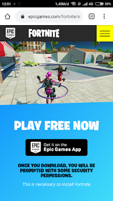 Cara download game fornite di android melalui situs resminya