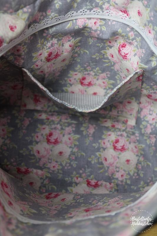 Tasche Tulipa von Lotte & Ludwig - Details Innentasche