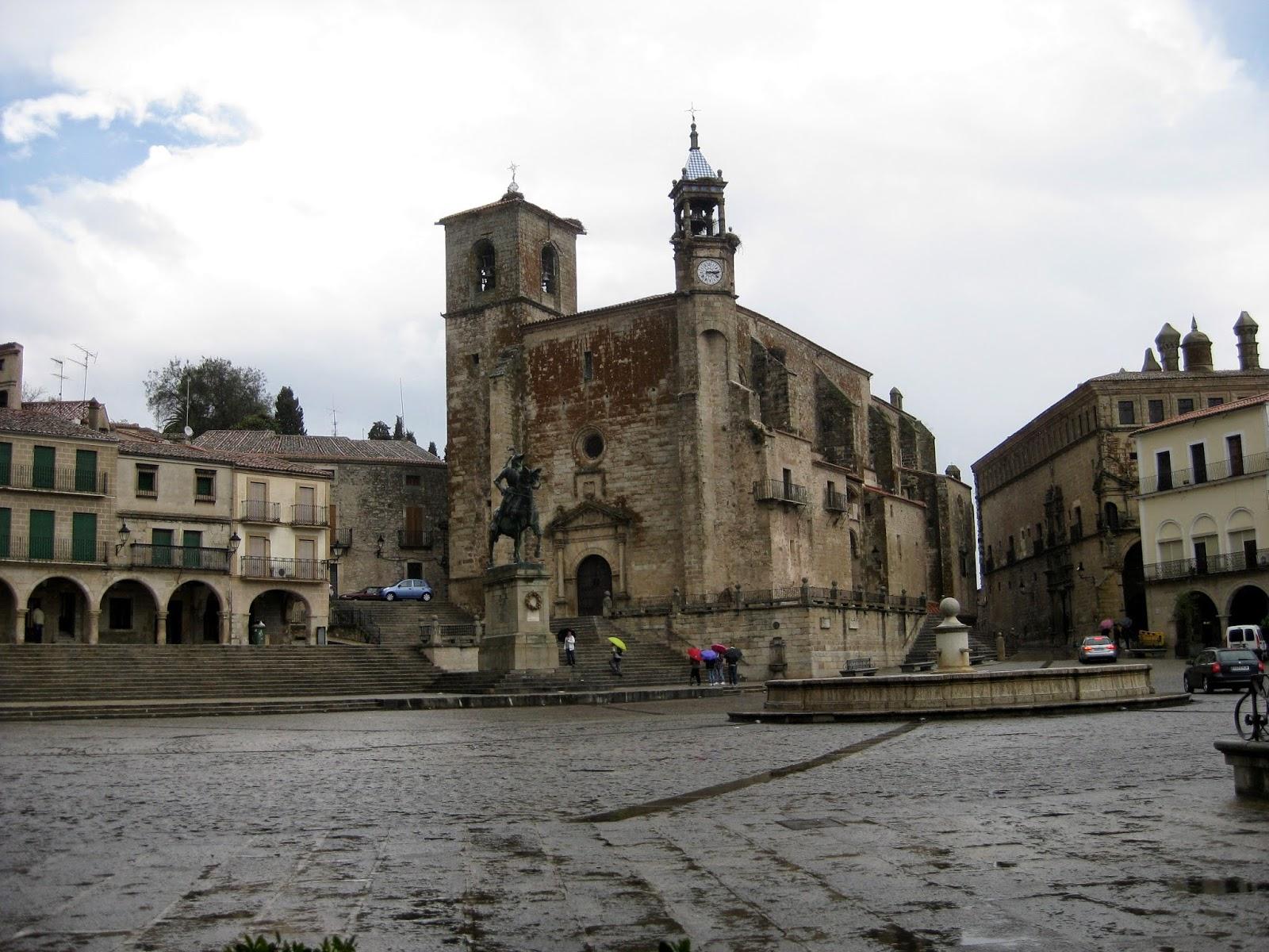 La Ruta de Isabel. Iglesia de San Martín de Trujillo