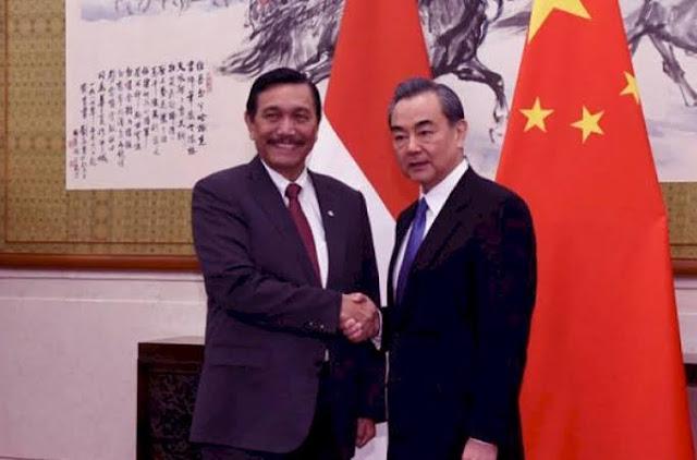 Luhut: China Kekuatan Dunia, Tak Ada Alasan Kita Bermusuhan