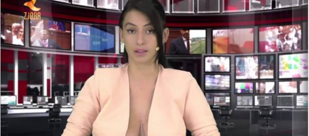 Eτσι κερδίζουν τις δουλειές οι τηλεπαρουσιάστριες στην Αλβανία!!!- Bγάζουν όλα τα «όπλα»… (ΒΙΝΤΕΟ)