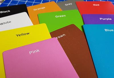Big Potato Disney Edition Colour Brain Review all 11 answer colour cards