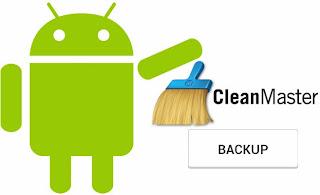 Backup Aplikasi Android dengan Clean Master