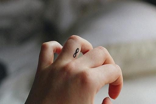 Infinity Dedo Tatuagem