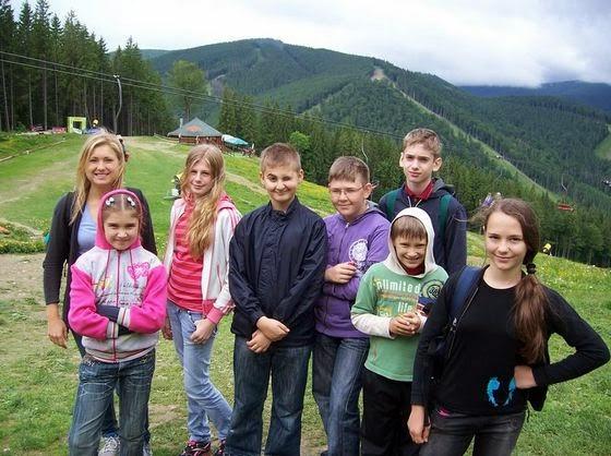 Детский лагерь в Буковели