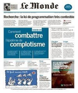 Le Monde Magazine 18 November 2020 | Le Monde News | Free PDF Download