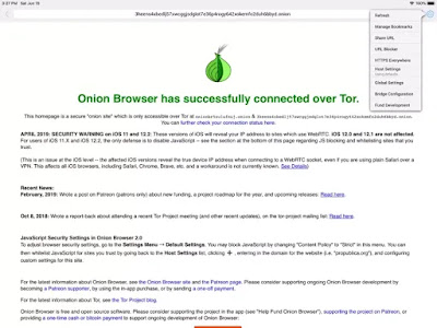 أفضل أدوات منع الإعلانات: متصفح البصل مانع الإعلانات