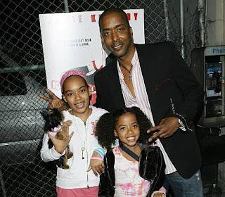 Yulanda Simon's husband Miguel A Nunez Jr & their daughters