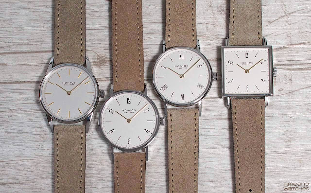 Nomos Glashuette Duo Series