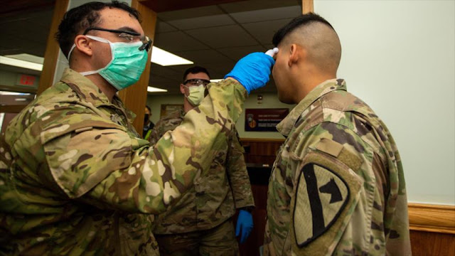 Se duplican casos de coronavirus en el Ejército de EEUU