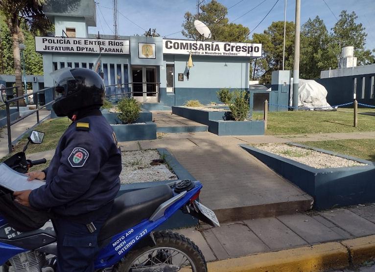 comisaria policia crespo