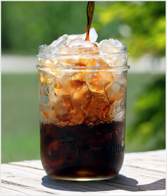 HOW TO MAKE AN ICED COFFEE; iced coffee;