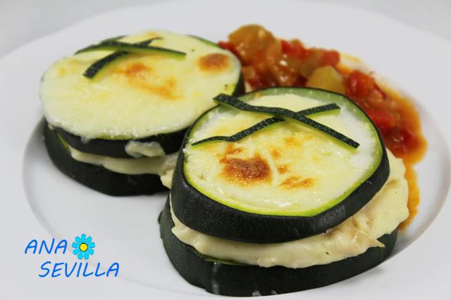 Sandwich de calabacín en olla GM. Ana Sevilla