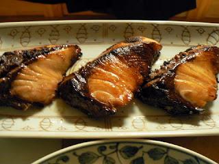 酒の肴 焼き魚 ブリ照り焼き